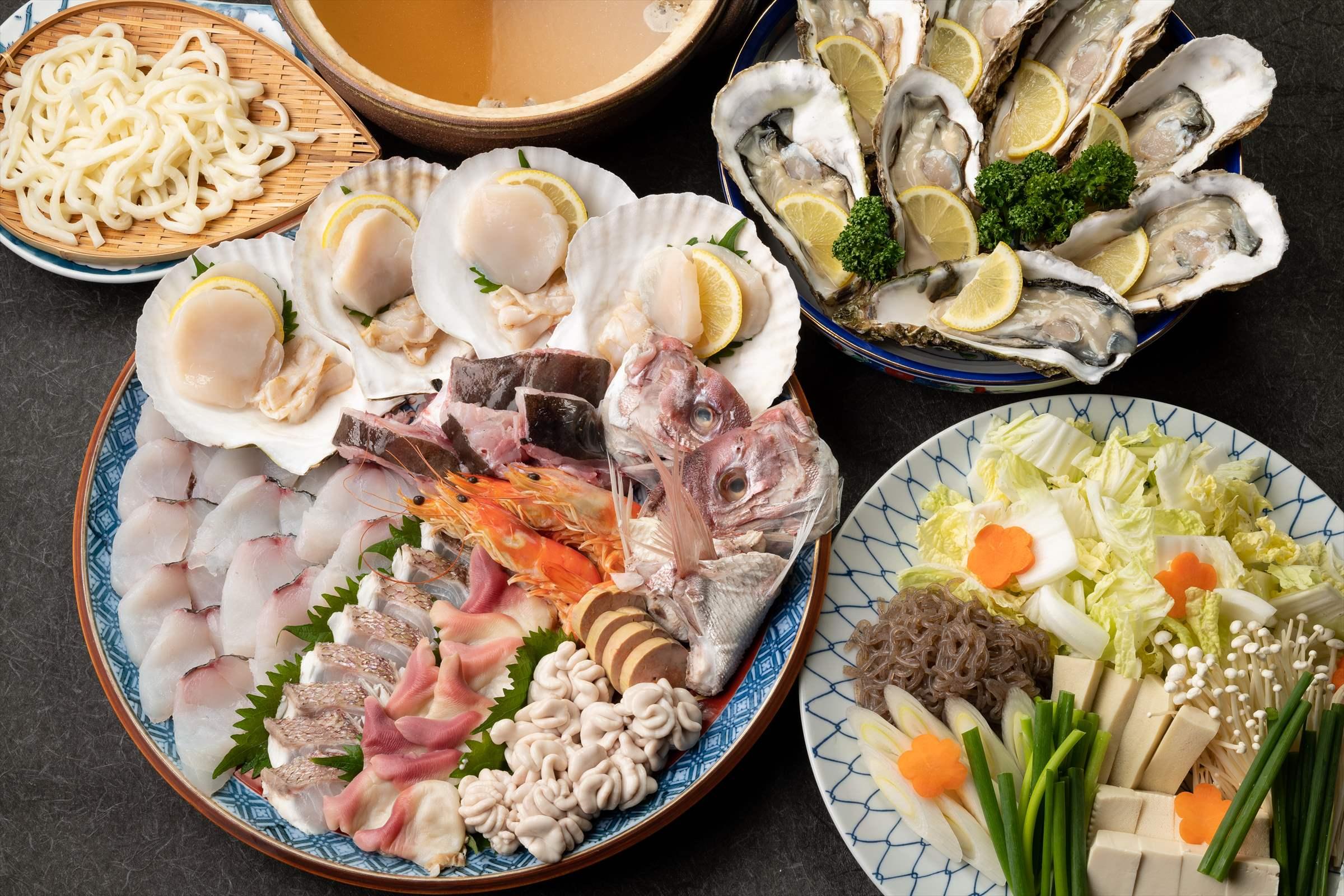 150年間、まごころこめて磨き続けた料理の味と技を、どうぞ存分にお楽しみください。